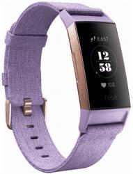 Fitbit Charge 3 Special Edition (NFC) ružovo-zlatý s fialovým remienkom
