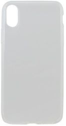 Mobilnet gumené puzdro pre Apple iPhone Xs, transparentná