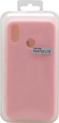 Mobilnet silikónové puzdro pre Huawei P20 Lite, ružová