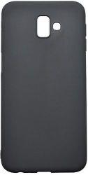 Mobilnet gumené puzdro pre Samsung Galaxy J6+, čierna