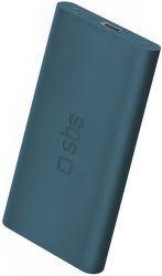 SBS Extra Slim powerbanka 4000 mAh, modrá