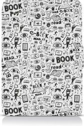 Connect IT Doodle puzdro pre čítačku e-kníh Amazon Kindle Paperwhite biele