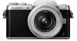 Panasonic Lumix DMC-GF7 strieborný + 12-32 mm