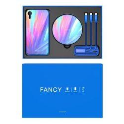 Nillkin Fancy set pre Apple iPhone Xs Max, modrá
