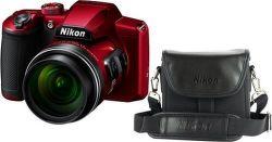 Nikon Coolpix B600 červený + taška Nikon CS-P08