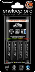 PANASONIC Smart Quick Charger+  4x AA 2500