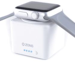 Zens powerbanka pre Apple Watch 1300 mAh, biela