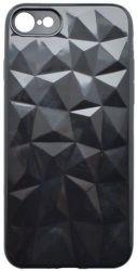 Mobilnet silikónové puzdro Geometric pre Apple iPhone 7/8, čierna