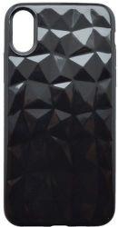 Mobilnet silikónové puzdro Geometric pre Apple iPhone X/Xs, čierna