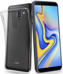 SBS Skinny silikónové puzdro pre Samsung Galaxy J6+, transparentná