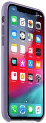 Apple kožený kryt pre iPhone Xs, fialový
