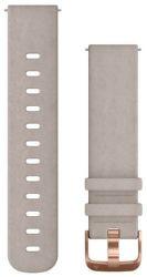 Garmin Quick Release 20mm semišový remienok sivý