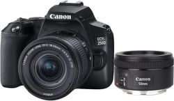 Canon EOS 250D + 18-55 mm f/4-5,6 IS STM + 50 mm f/1,8 IS STM