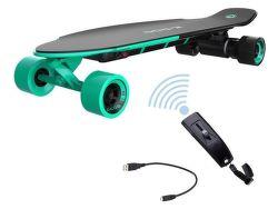 YUNEEC E-GO2,  E-Longboard, zelený