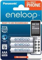 Panasonic Eneloop AAA 750 mAh 3ks