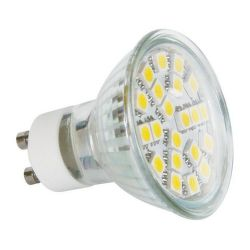 ZIAROVKA LED SMD 21LED GU10 CW Z72240