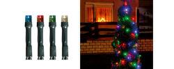 SOMOGYI 108/M LED svietiaci reťazec, 100 ks farebných LED