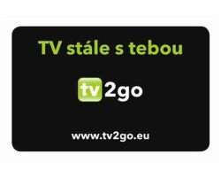 TV2GO registračná karta