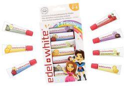 Edel White detské zubné pasty (7ks/9,3ml)