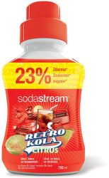 Sodastream Retro Kola citrus sirup (750 ml)