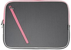 MARCO POLO ZIP NOTEBOOK BAG G/PINK B-903-10