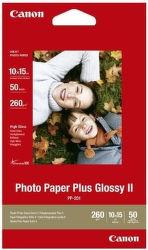 CANON PHOTO PAPIER PP-201S, 10x15cm, 50 ks
