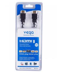 Vega AA-902 - HDMI 1.4, Ethernet, 2m (čierny)