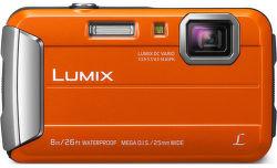 Panasonic Lumix DMC-FT30EP-D oranžový