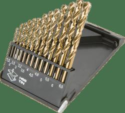 GRAPHITE Vrták do kovu HSS-Co sada 1,5 - 6,5 mm, 13 ks