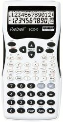 REBELL SC2040 BW vedecká kalkulačka, bielo-čierna