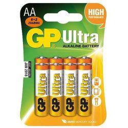 GP Ultra AA (LR06), 6+2ks