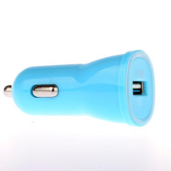 Winner autonabíjačka + dátový kábel pre iPhone 5/6 (modrá)