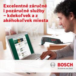 Bezplatný odvoz náradia Bosch pri reklamácii