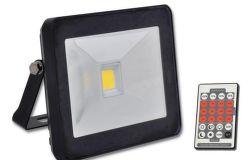 ECOLITE LED reflektor s HF senz.,COB,10W,IP44,4100K,čierny