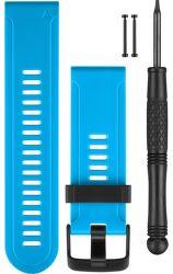 Garmin silikonový remienok pre fénix 3 (modrý)