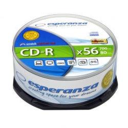 Esperanza CD-R Silver 25ks