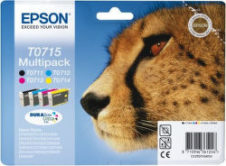 EPSON T0715 color (gepard) - atrament