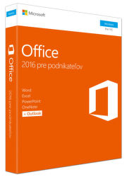 MICROSOFT Office Home and Business 2016 SK