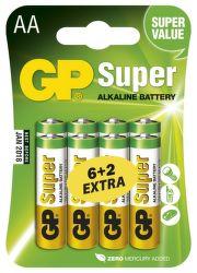 GP B13218 - AA tužkové batérie 6+2 ks