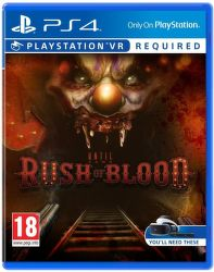 Sony VR Until Dawn: Rush of  Blood - PS4 hra