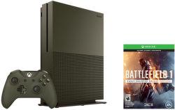 Xbox ONE s 1TB (zelená) + Battlefield 1