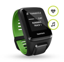 TOMTOM SPORTS Runner 3 L Cardio+Music (čierno - zelené)