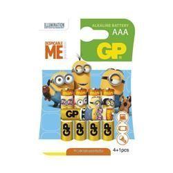 GP Minion AAA 4+1ks, Batérie