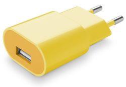 Cellular Line Style&Color nabíjačka 1A (žltá)