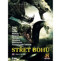 Střet bohů, 5ks - DVD film