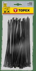 TOPEX 4,8 x 200 mm 75 ks, čierna