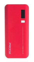REMAX AA-1080 Power bank 20.000 mAh, display, červená