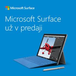Microsoft Surface už v predaji