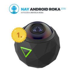 360 Fly 4K - panoramatická akčná kamera