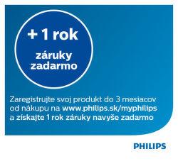 1 rok záruky navyše na vybrané produkty Philips